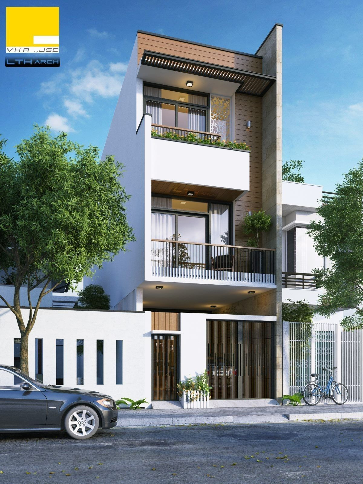 3 Storey House Plans for Small Lots Beautiful Pin by Pilu Sitapara On Exterior A with Images