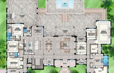 7 Bedroom House Plans Awesome House Plan 207 Luxury Plan 8 285 Square Feet 7