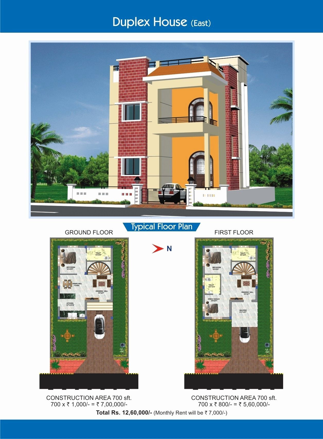 700 Sq Ft House Plans New Duplex House Floor Plans Indian Style Awesome Remarkable 700