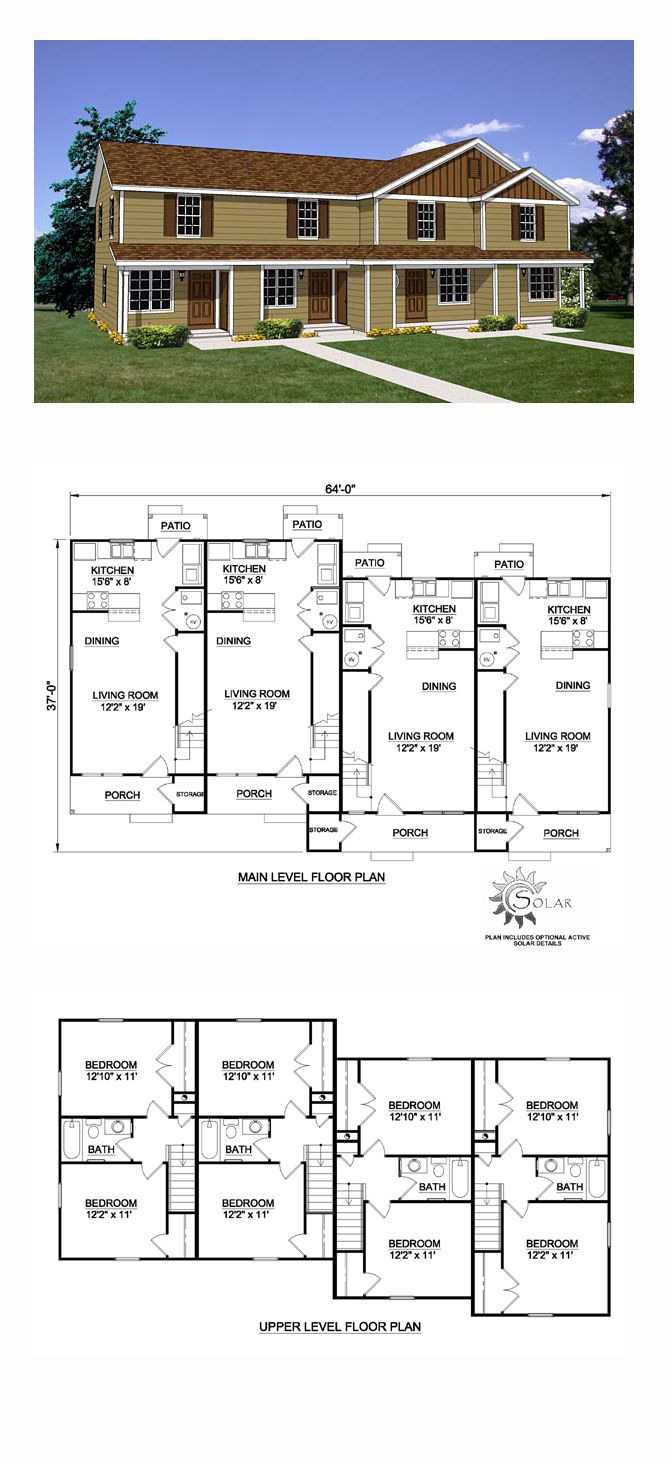8 Bedroom House Plans Luxury Traditional Style Multi Family Plan with 8 Bed 4