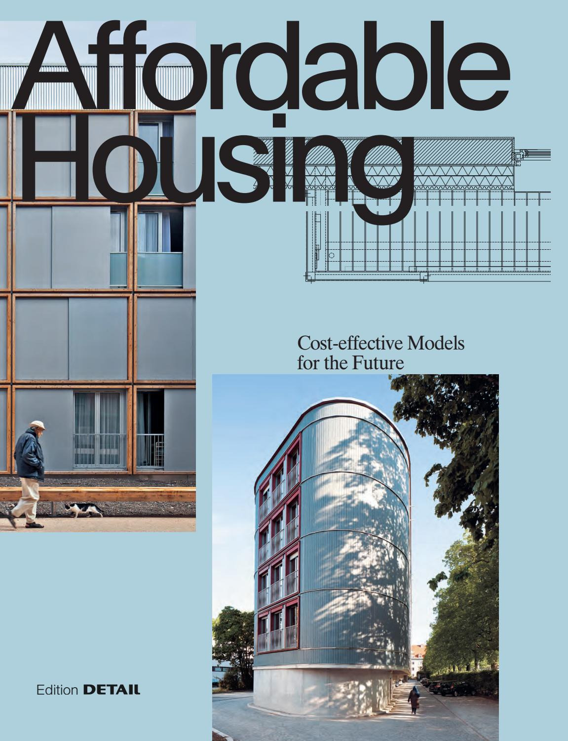 Affordable Concrete House Plans Inspirational Affordable Housing by Detail issuu