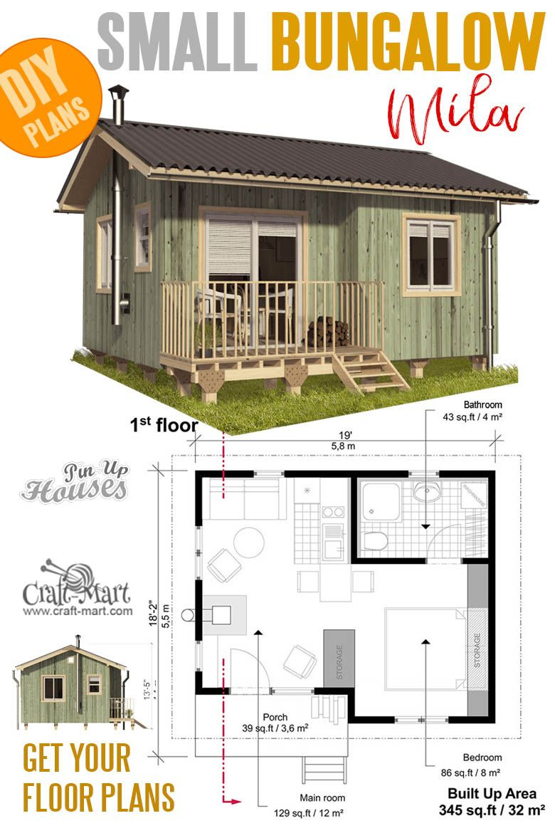 Affordable House Plans with Estimated Cost to Build Elegant Small Bungalow House Plans Mila In 2020