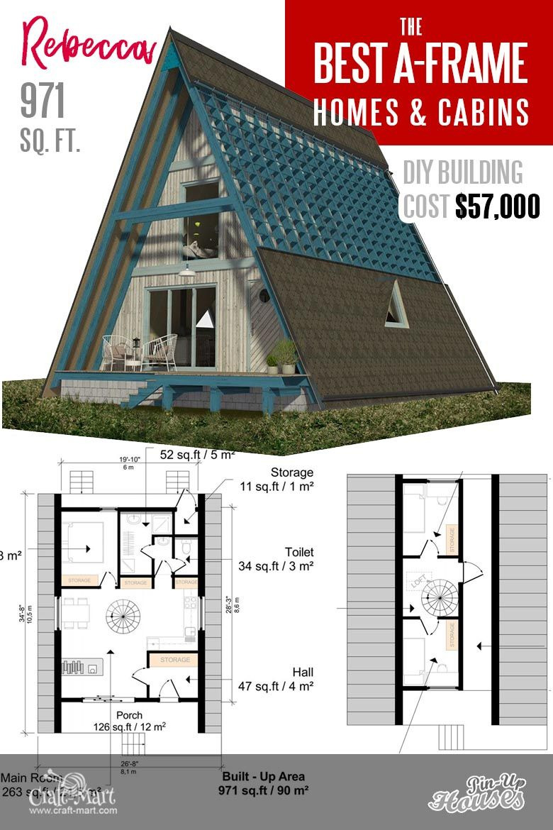Affordable House Plans with Estimated Cost to Build New 9 Affordable Plans for A Frame House that You Can Easily