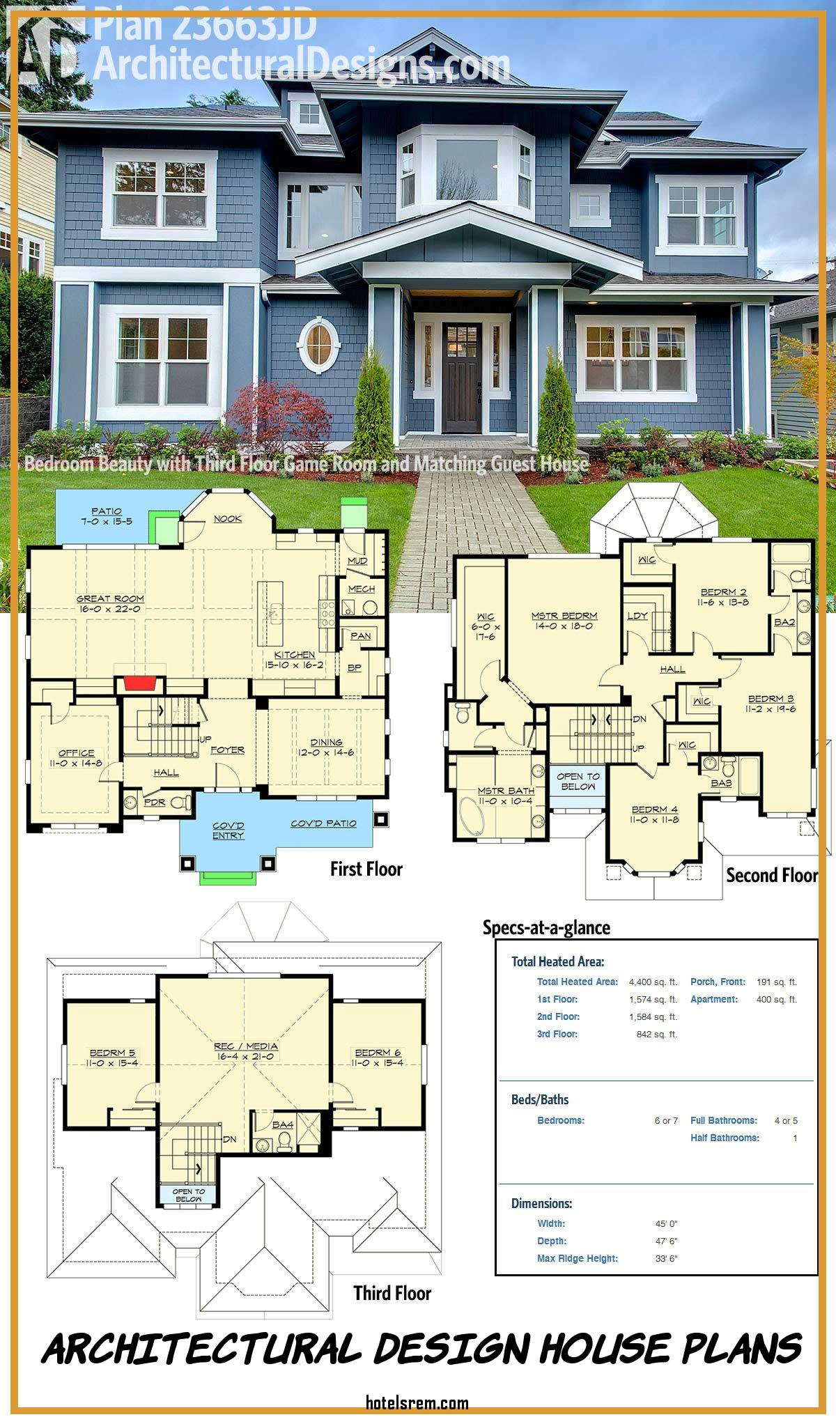 Architectural Design House Plans Awesome Architectural Designs House Plan Jd Not Only Gives You