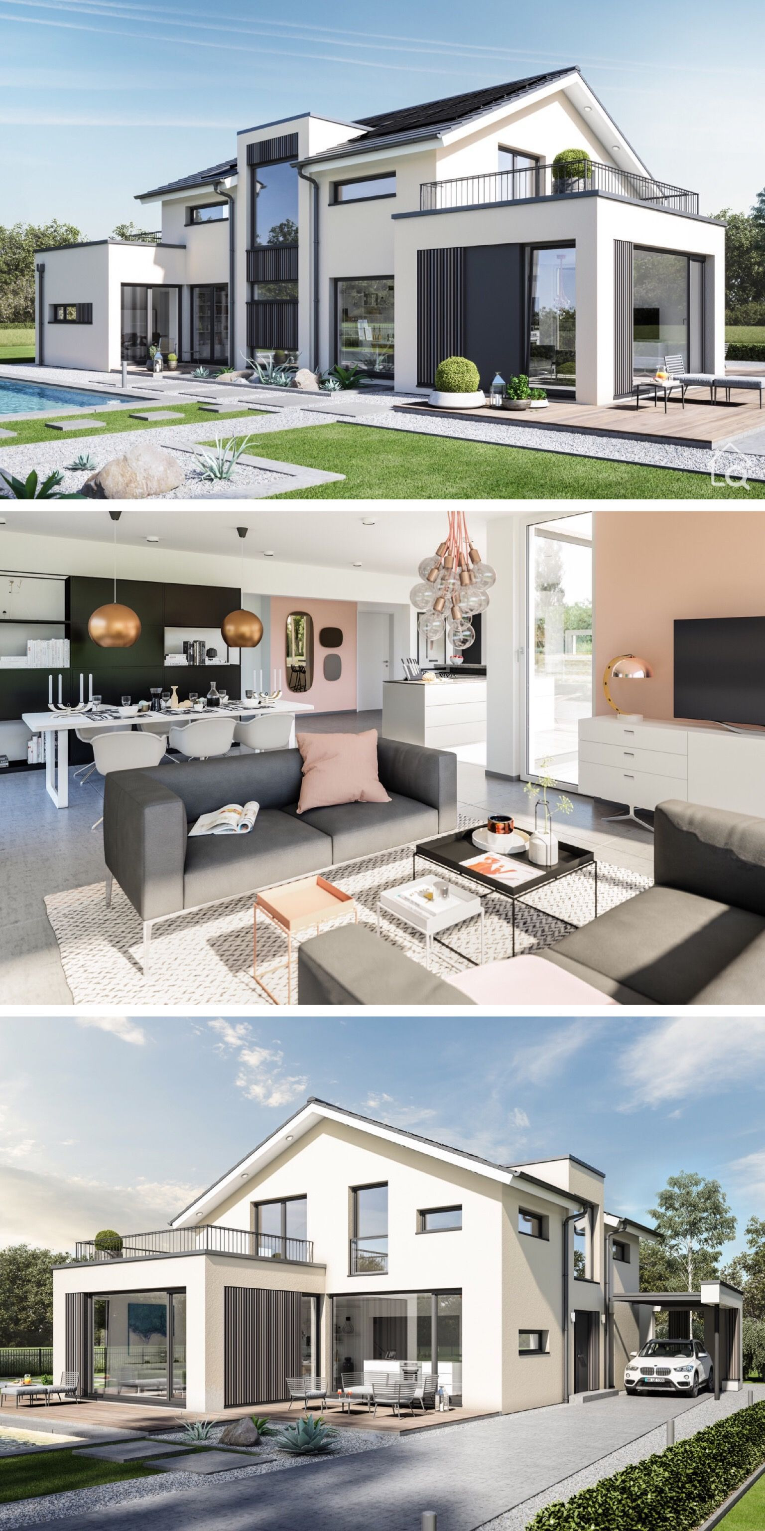 Architecture Design for Home Beautiful House Plans with Open Concept & Gallery Modern Contemporary