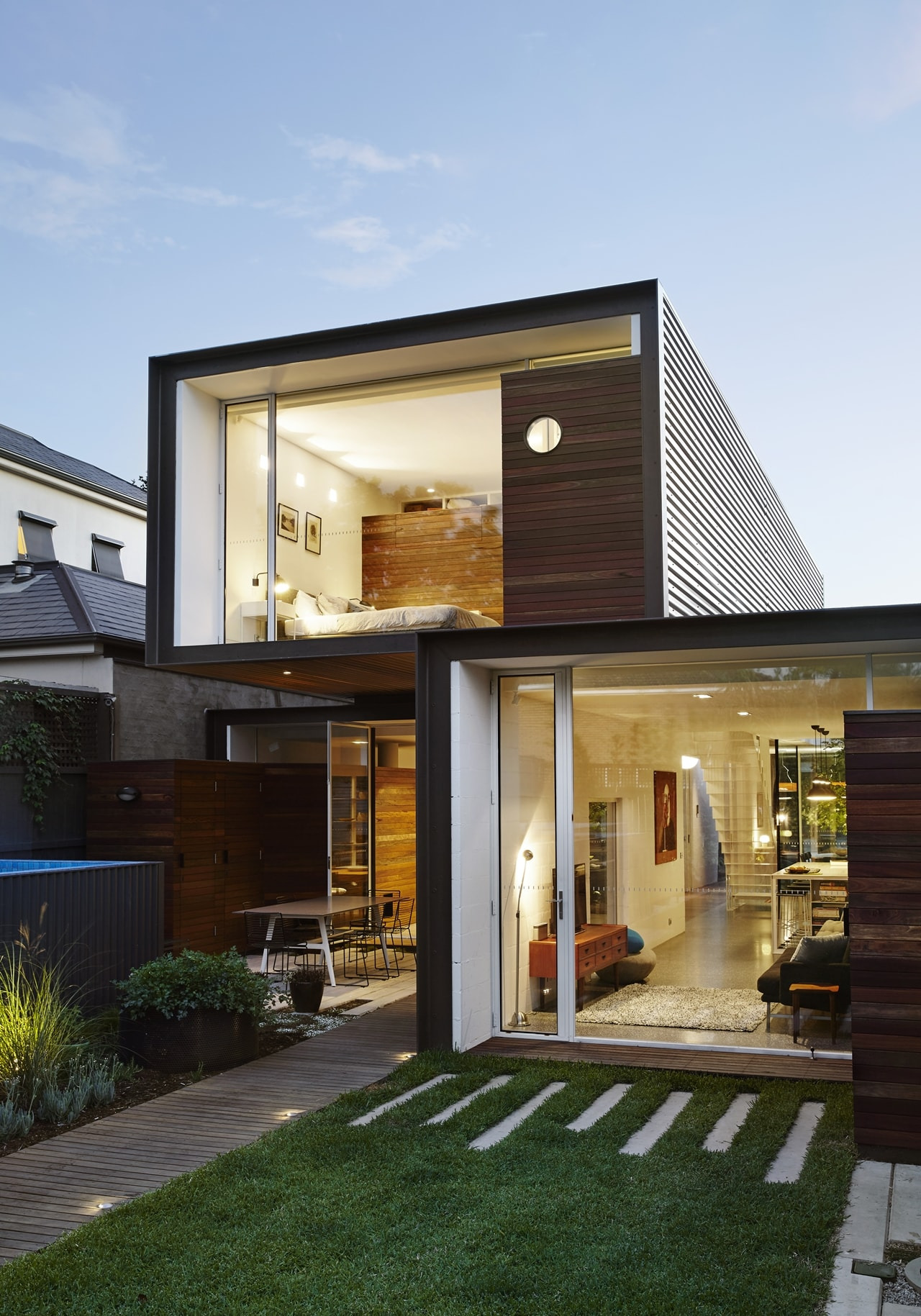 Architecture Design for Home Lovely Open House Design Contemporary Home Connected to the