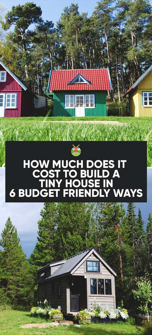 Build A Small House Cheap Unique How Much Does It Cost to Build A Tiny House
