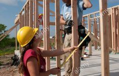Building An Affordable House Fresh Pany Employees Volunteer Their Time Help Build An