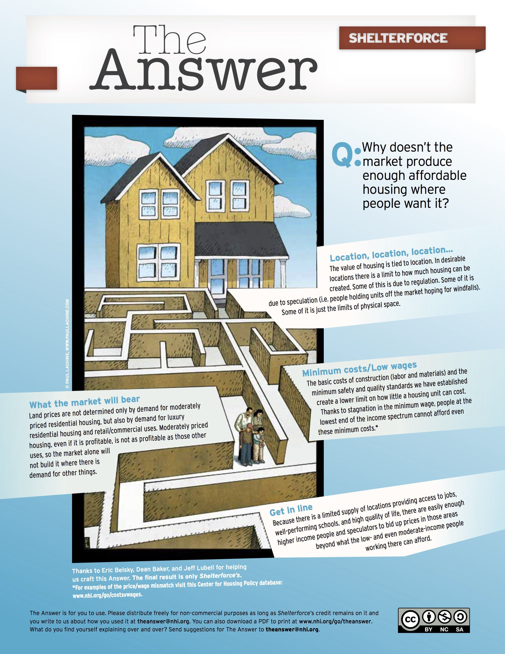 Building An Affordable House New Q why Doesn T the Market Produce Enough Affordable Housing