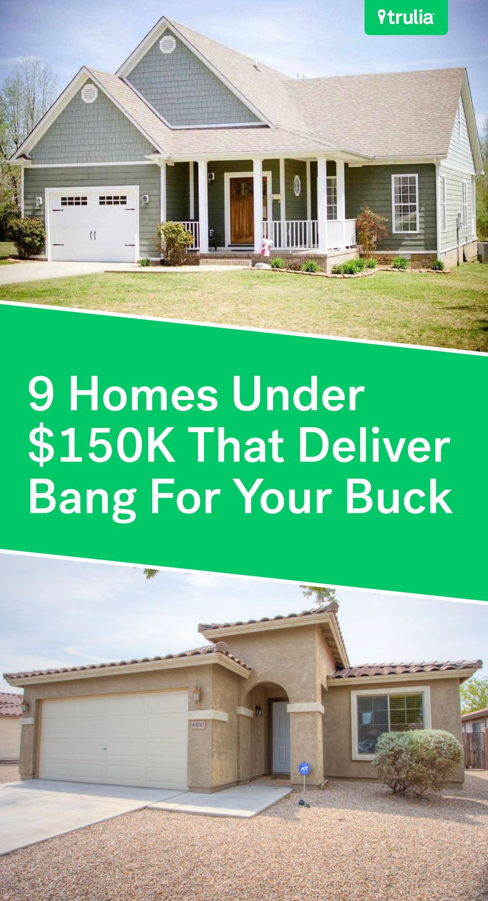 Can I Build A House for $150 000 Awesome 9 Affordable Houses Priced Under $150k — Real Estate 101