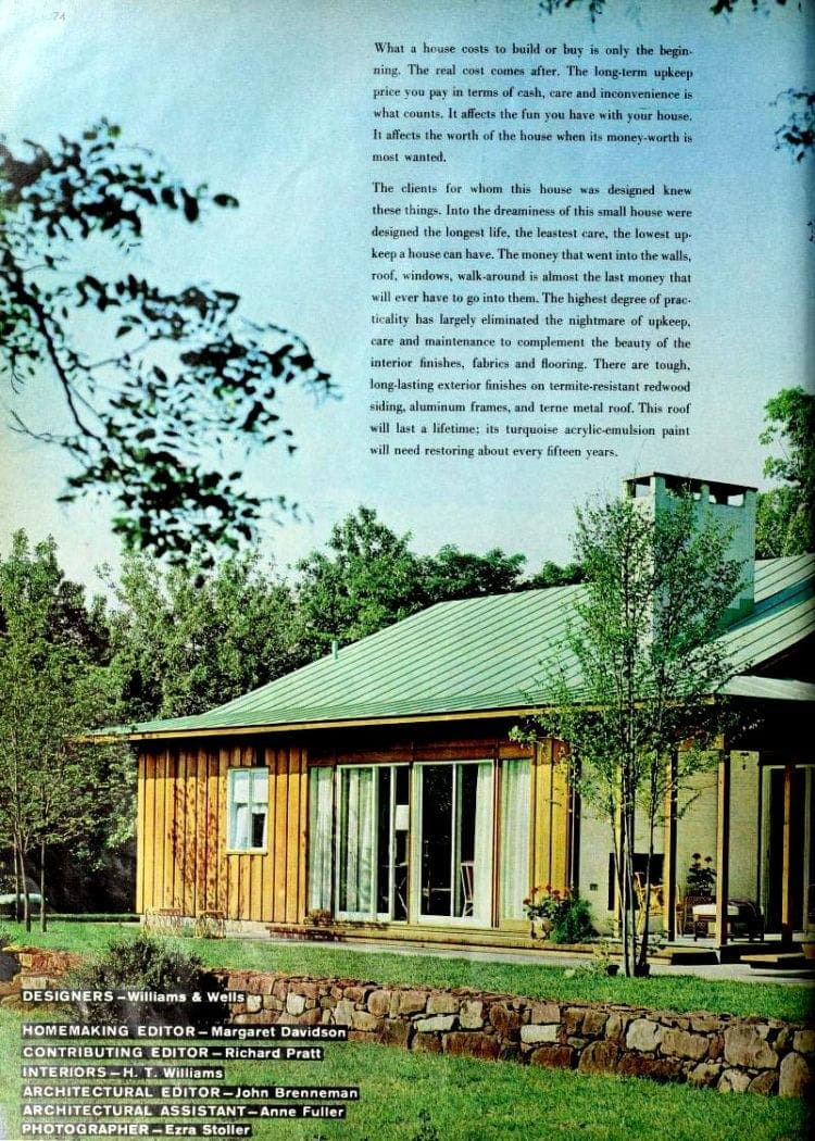 Cost to Build Mid Century Modern Home Beautiful Design & Decor for A Small but Practical Dream House 1960