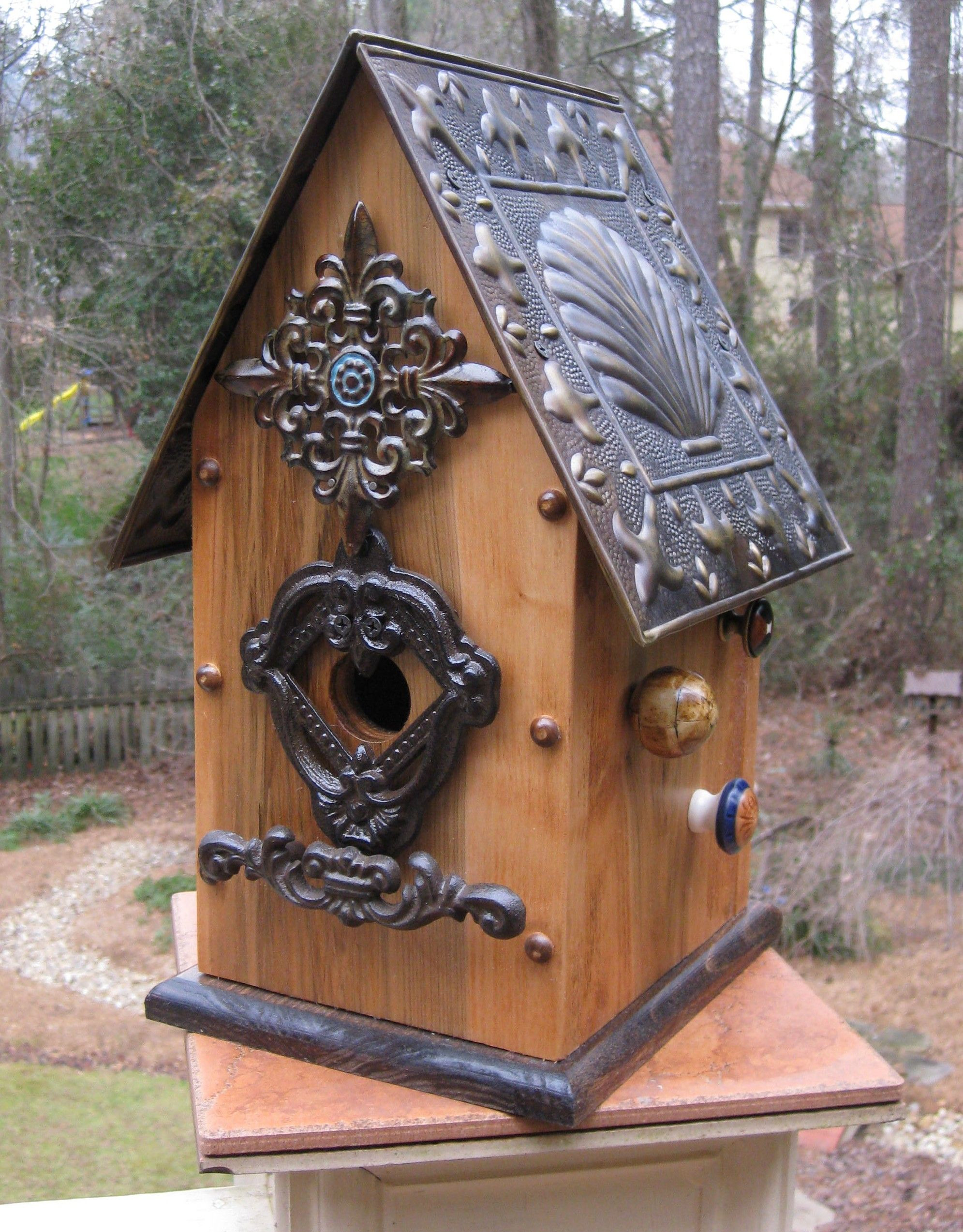 Decorative Bird House Plans Awesome Diy Birdhouse Roof Design Wooden Pdf Free Roll top Desk