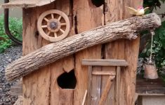 Decorative Bird House Plans Awesome Rustic Birdhouse