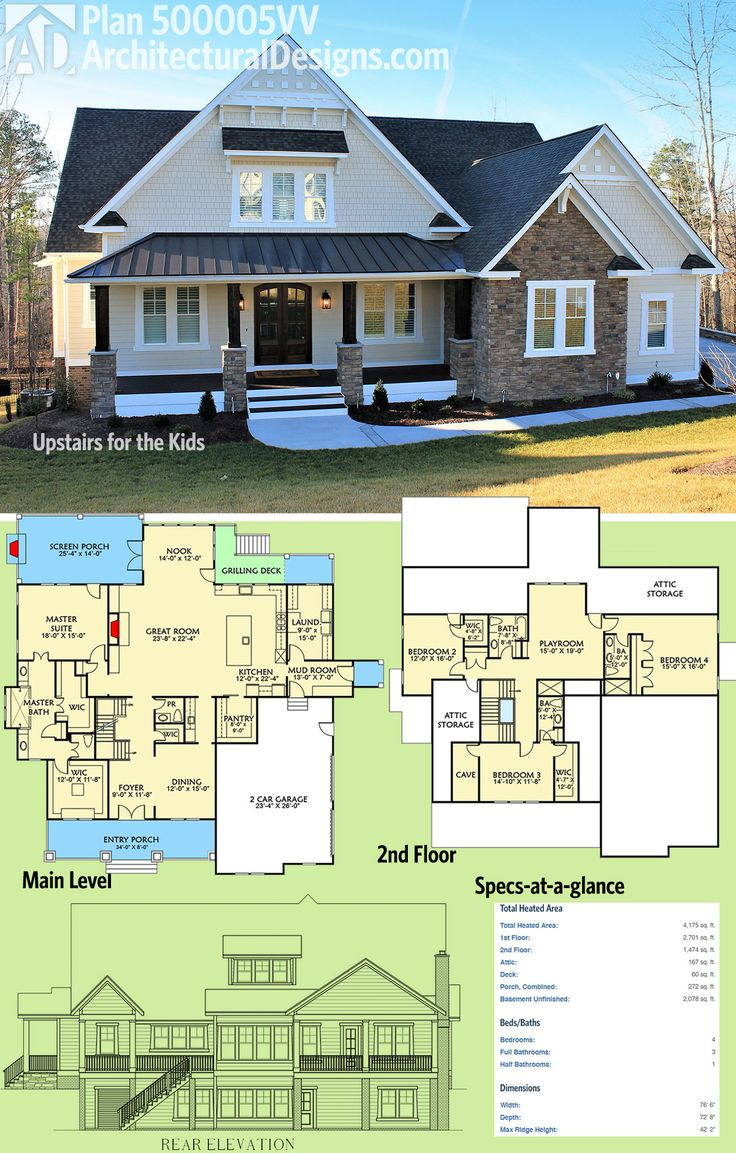 Design Your Own House Plan New Architectural Designs House Plan Vv Was Designed to