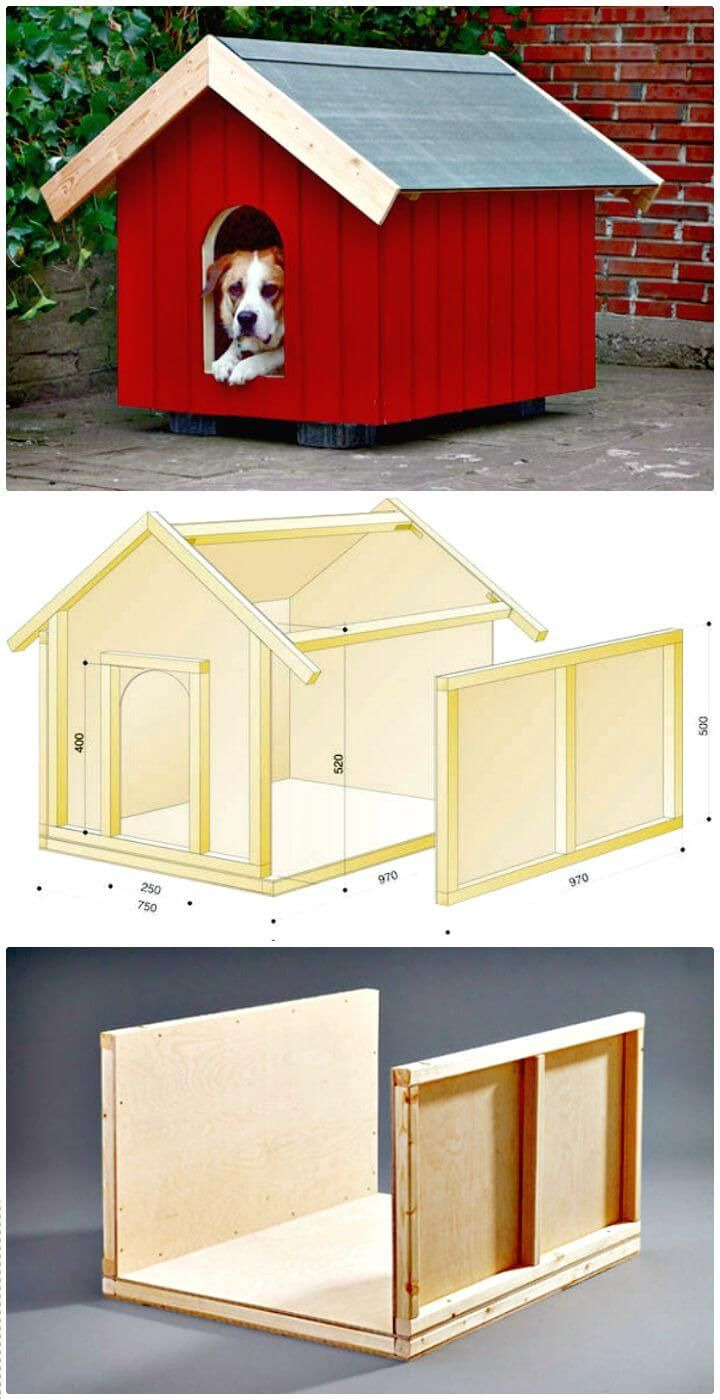 Dog House Building Plans Inspirational 45 Easy Diy Dog House Plans & Ideas You Should Build This