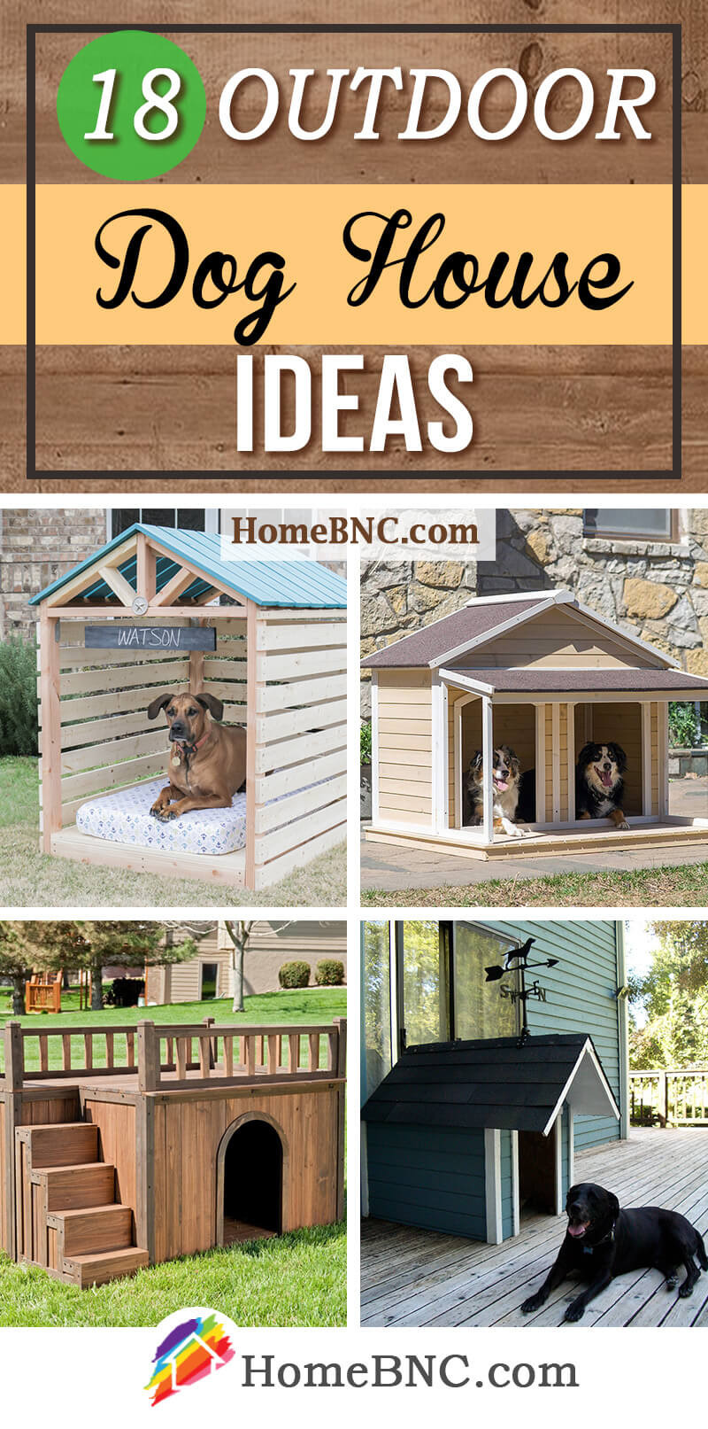 Dog House with Porch Plans Awesome 18 Cool Outdoor Dog House Design Ideas Your Pet Will Adore