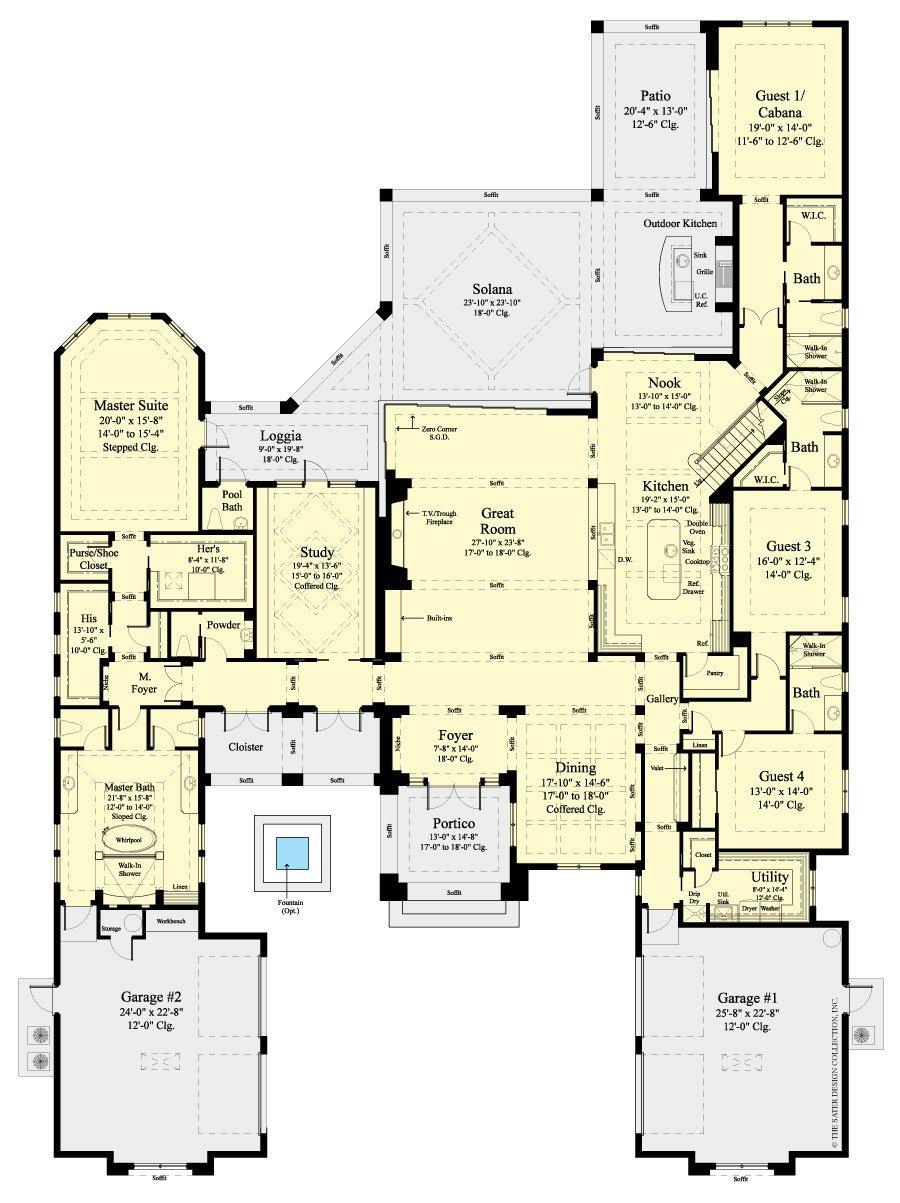 Floor Plans for Houses Awesome Stillwater Modern House Plan Sater Design Collection
