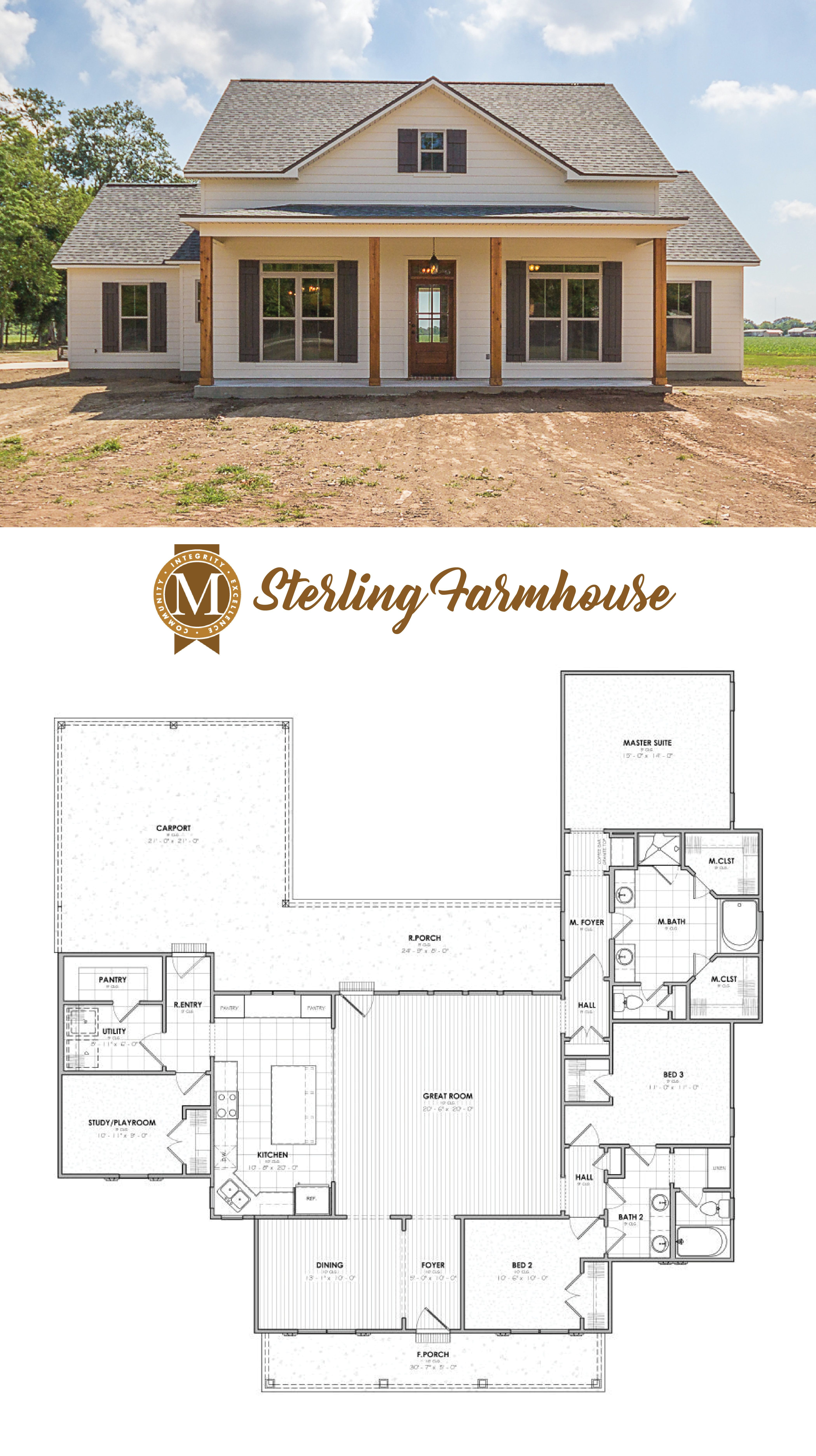 House Plans Baton Rouge Beautiful Living Sq Ft 2206 Bedrooms 3 or 4 Baths 2 Lafayette Lake