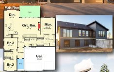 House Plans For Sale Fresh Plan Dj 3 Bed Modern Ranch House Plan In 2020