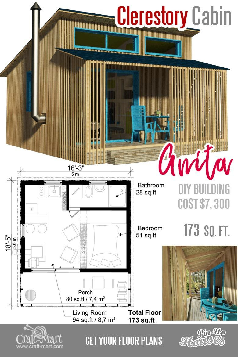 House Plans for Small Homes Luxury Cute Small Cabin Plans A Frame Tiny House Plans Cottages