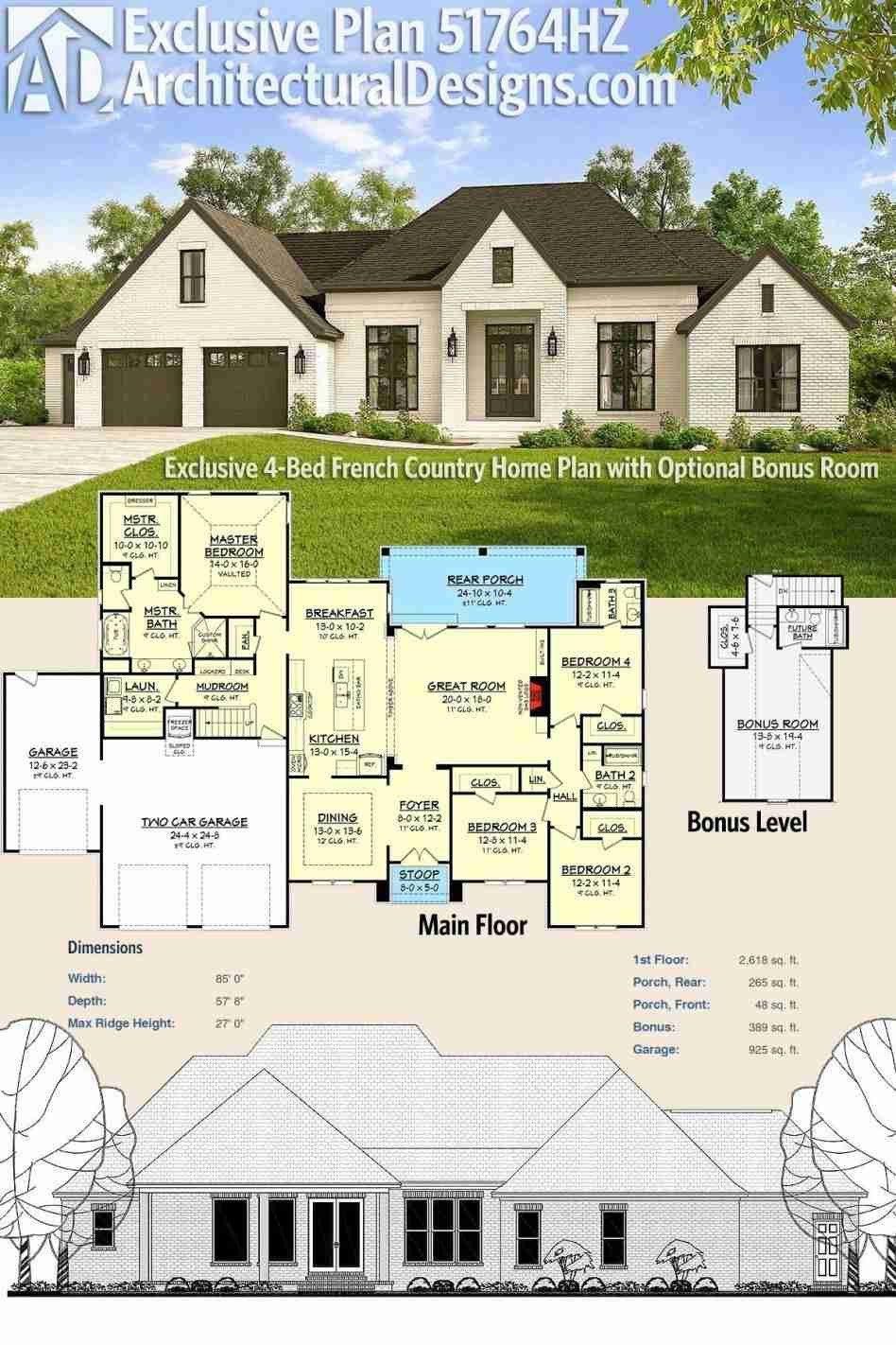 House Plans with Front Porch Beautiful Bedroom House Plans with Front Porch Home Plan Dormer