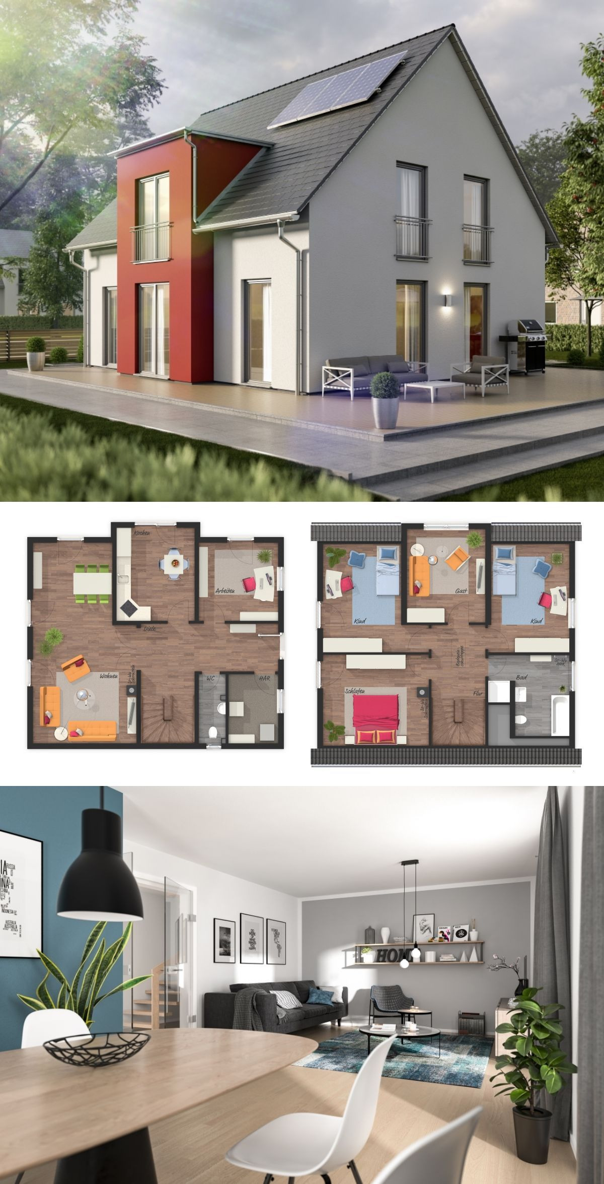 House Plans with Interior Photos Luxury Modern Contemporary European Style Architecture Design House