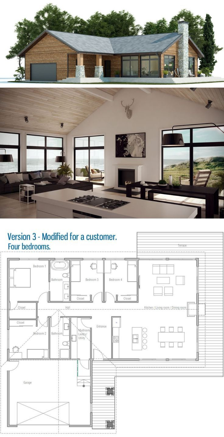House Plans with Interior Pictures Inspirational Country House Plan Small Home Plan Modern Interior Design