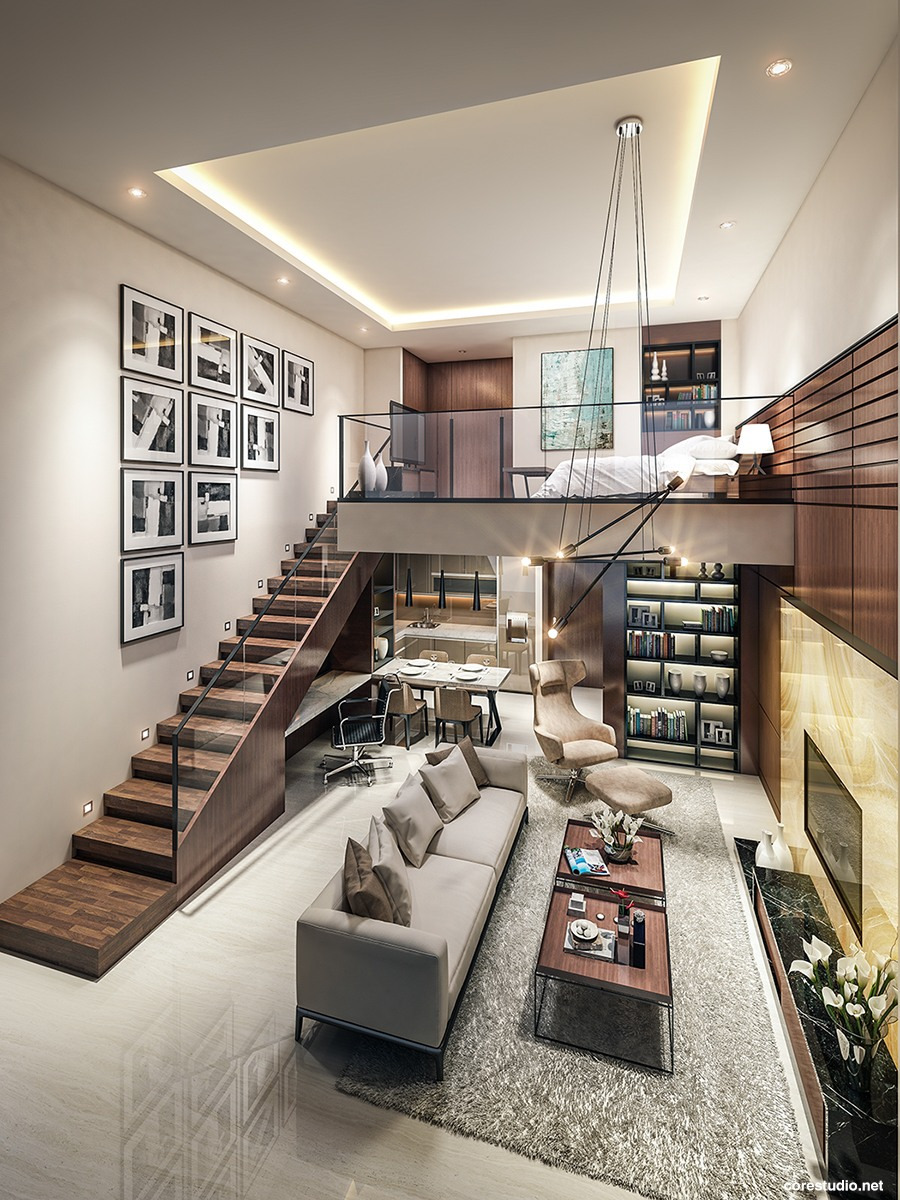 House Plans with Lofts Beautiful Small Homes that Use Lofts to Gain More Floor Space
