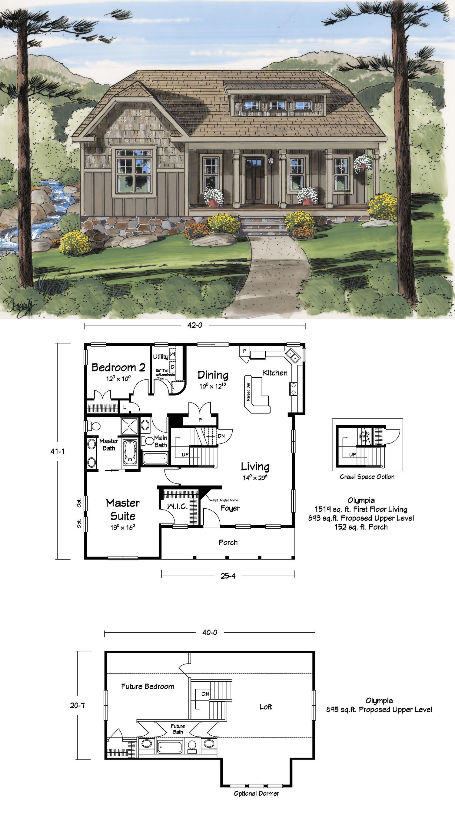 House Plans with Lofts Inspirational 111 Best House Plans Images