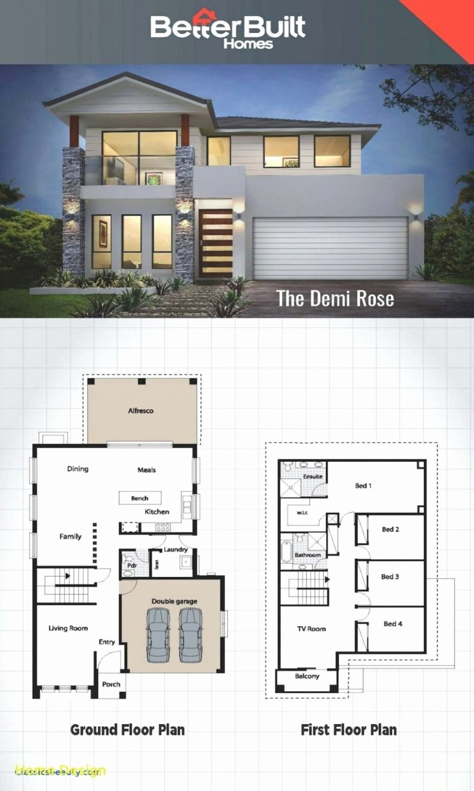 House Plans with Pictures and Cost to Build Best Of Modern House Plans In Ghana Lovely Modern House Plans with
