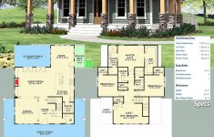 House Plans With Porch Awesome Plan Vv Craftsman With Wrap Around Porch