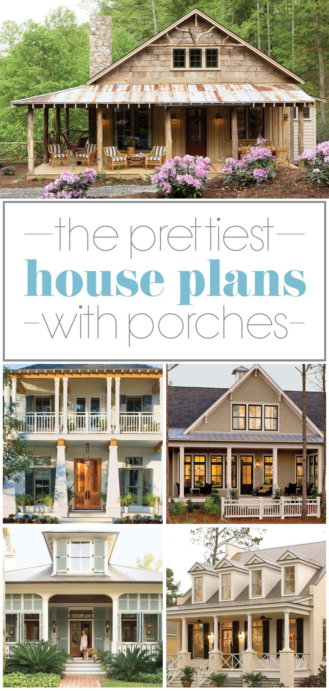 House Plans with Porch Inspirational 17 Pretty House Plans with Porches
