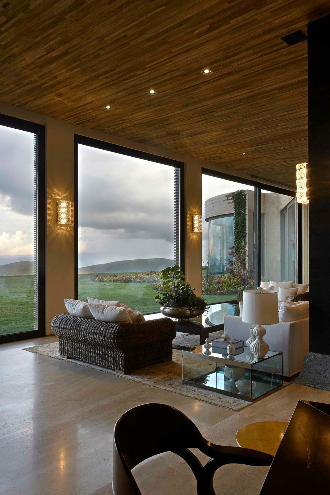 House with Big Windows Lovely sophisticated Rustic Feel Impressive Wood and Stone House
