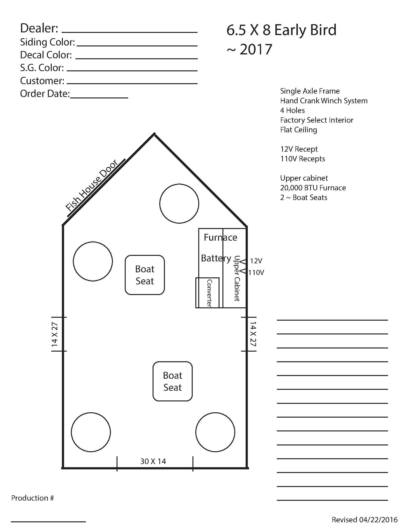 Ice Fishing House Plans Elegant Ice Castle Fish House Floor Plans Home Design with Images