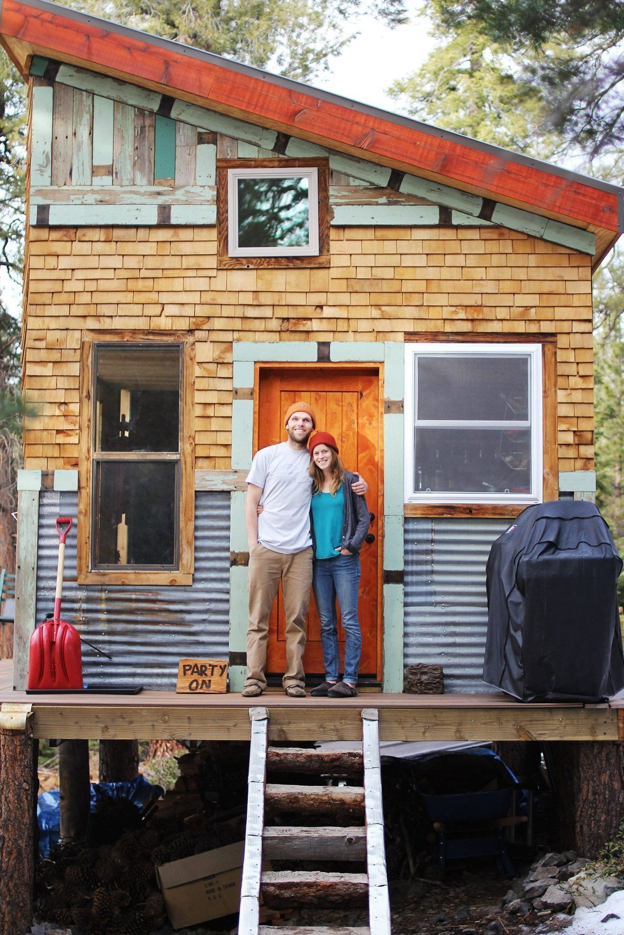 Inexpensive Houses to Build Best Of Tim and Hannah S Affordable Diy Self Sustainable Micro Cabin