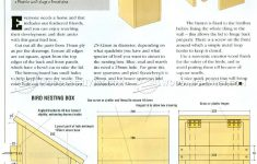 Martin Bird House Plans Elegant Bird Nesting Box Plans Outdoor Plans And Projects