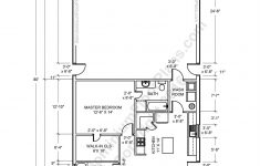 Metal Building House Plans Unique 2 Bedroom 2 Bath Barndominium Floor Plan For 30 Foot Wide