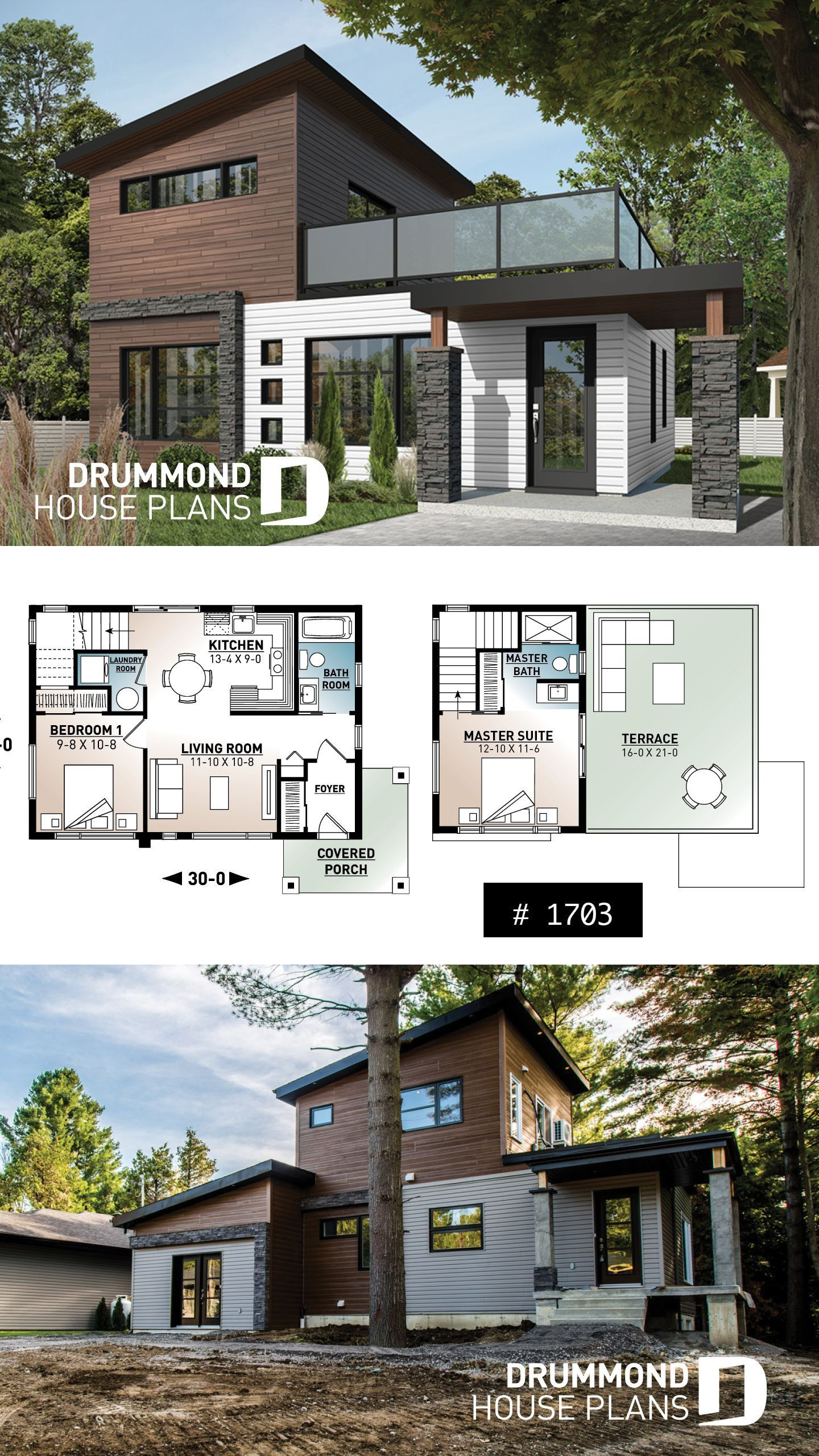 Modern 2 Story House Elegant 2 Storey House Design Tiny Modern Home with Terrace In 2020