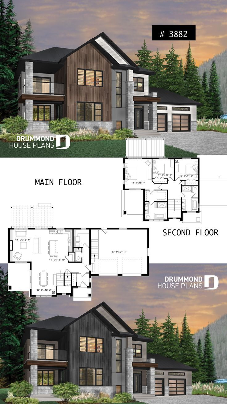 Modern Cabin Floor Plans Beautiful Modern Cottage with 3 Covered Terraces Large Mast