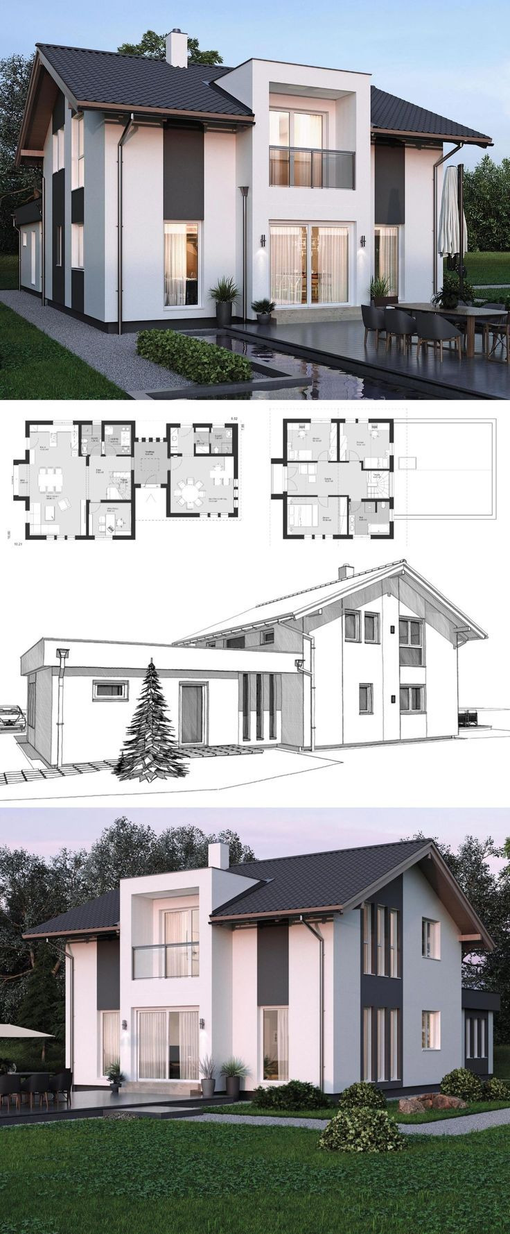Modern Contemporary House Plans Elegant Modern Contemporary Styles Architecture Design House Plans