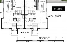 Modern Duplex House Plans New Modern Duplex House Plan With 4 Bedrooms 2 Bathrooms And 2