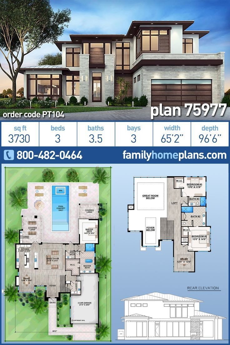 Modern House Plans with Photos New Modern House Plan Contemporary Style 3 Bedroom 3 Bathroom