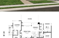 Modern Small House Plans With Photos Inspirational Modern Style House Plan 2 Beds 2 Baths 1508 Sq Ft Plan 48