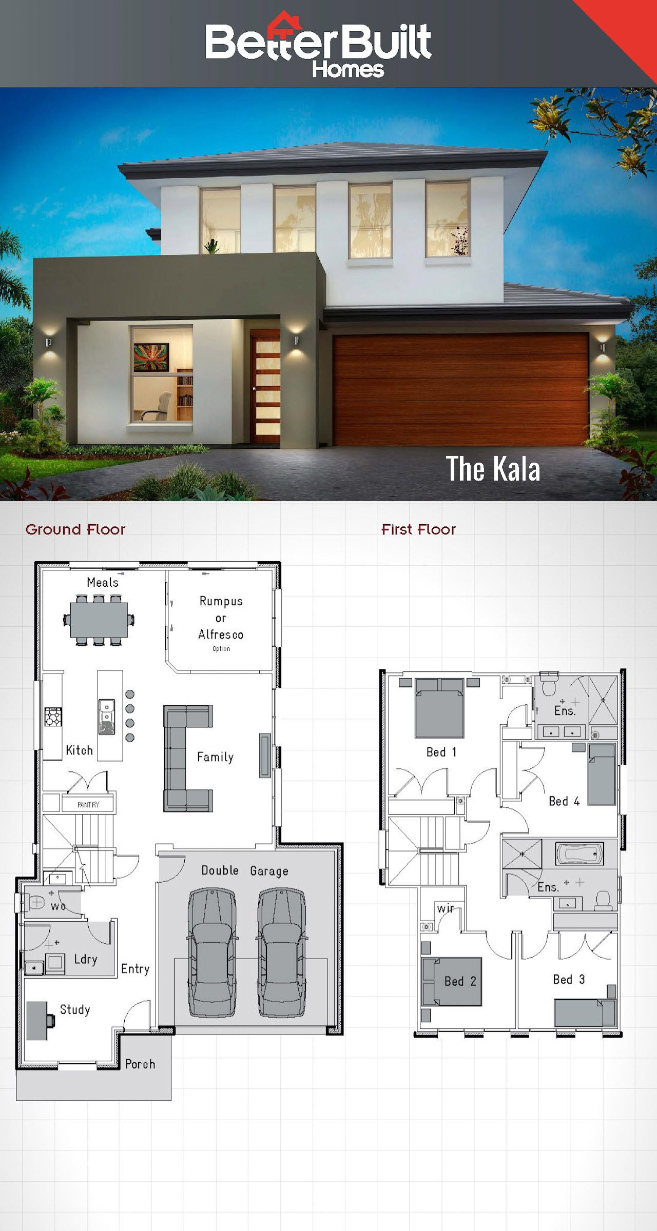 Modern Two Story House Plans Awesome Pin On Rumah