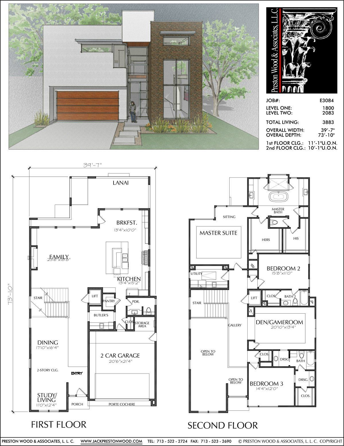 Modern Two Story House Plans Inspirational Pin Auf Haus Grundriss