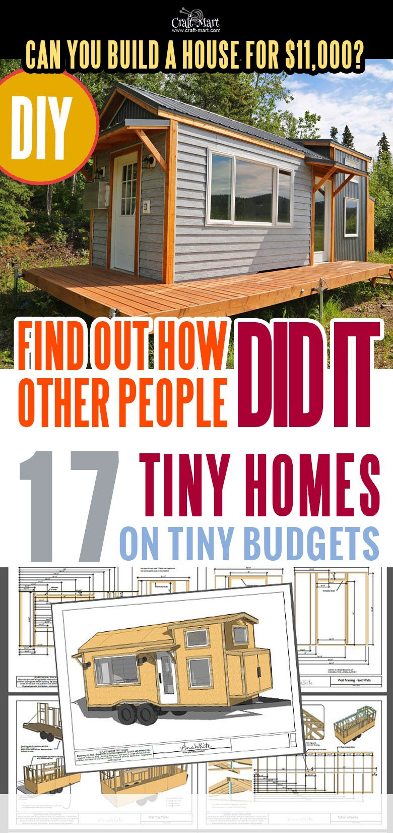 Most Affordable Homes to Build Inspirational 17 Best Custom Tiny House Trailers and Kits with Plans for