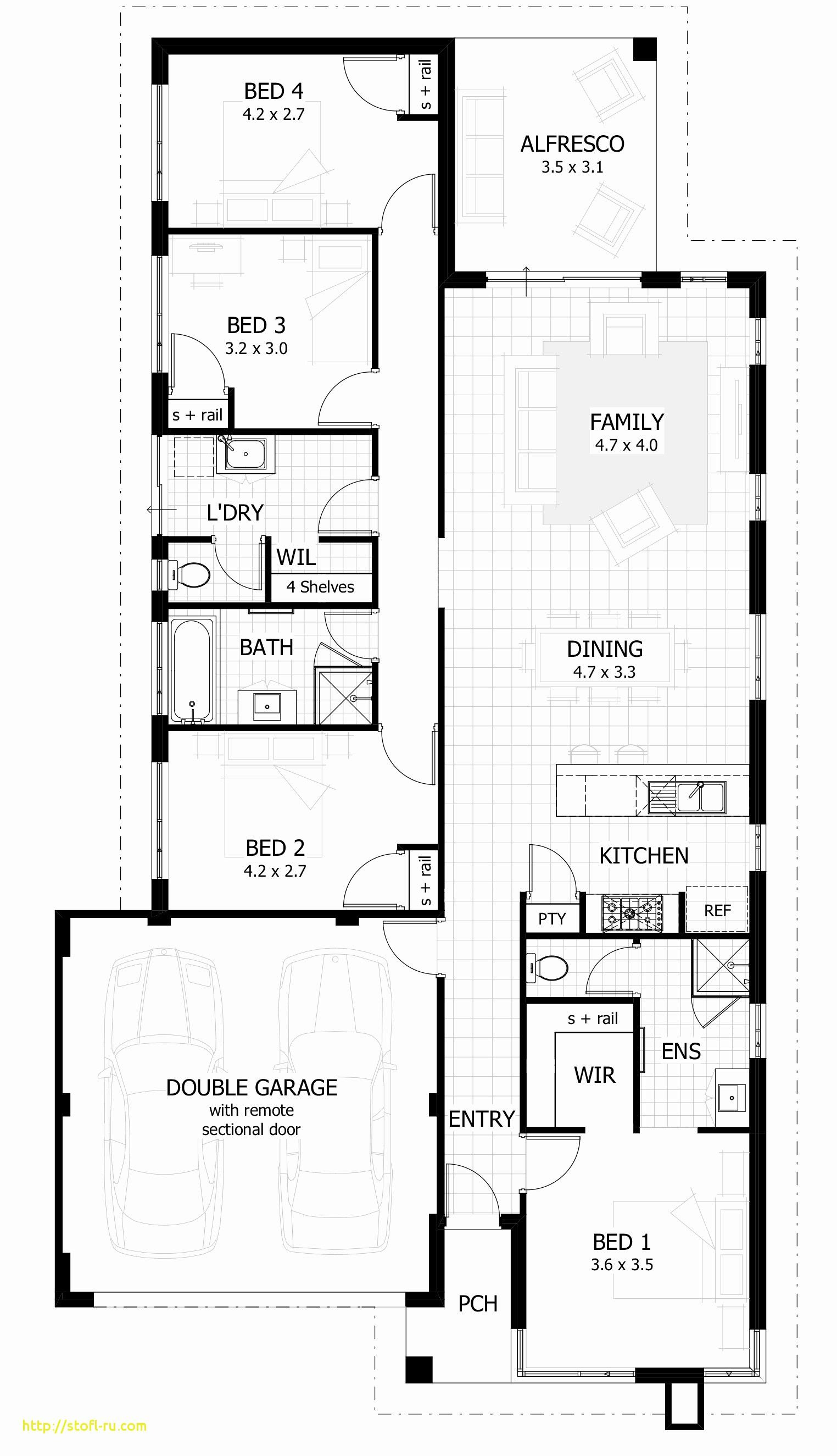 Narrow Lot Modern House Plans New E Story House Plans for Narrow Lots