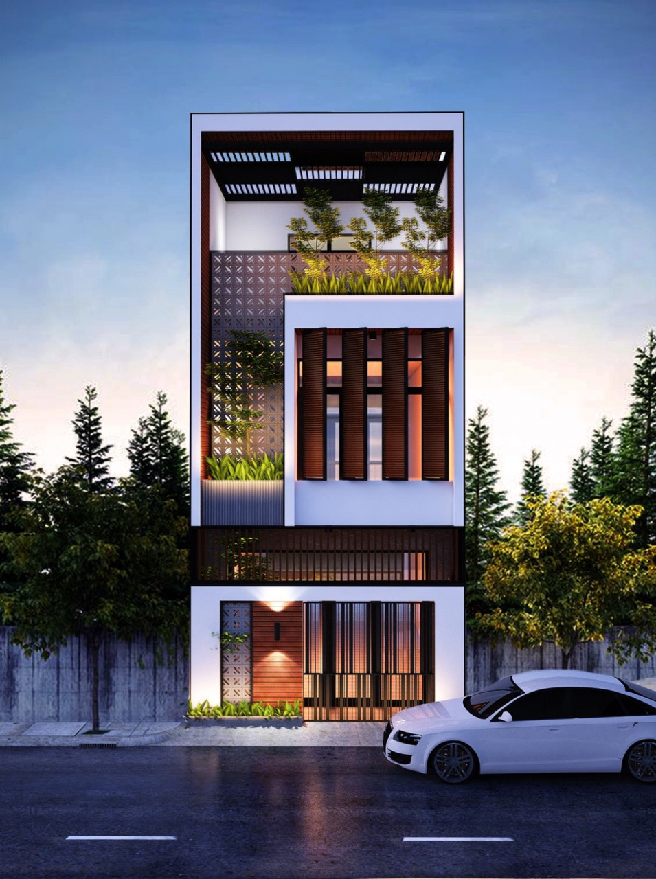 modern narrow house designs 50 narrow lot houses that transform a skinny exterior into something 4