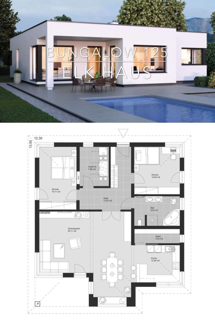 One Story Modern House Plans Inspirational Modern E Story House Plan Architecture & Interior Design