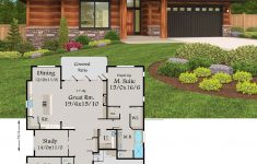 One Story Modern House Plans New Stephanie House Plan In 2020